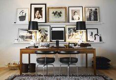 Fashion designer Malene Birger's desk