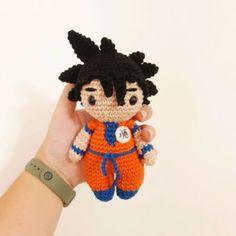 Goku, Crochet Penguin, Penguins, Lana, Minnie Mouse, Harry Potter, Crochet Patterns, Diy, Disney Characters