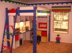 Lego Room - I think I'll have to turn the Vandy room into this...