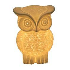 Porcelain Owl Ambient Lamp:Amazon:Home Improvement