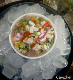 Ceviche Dream Beach Houses, Ceviche, Seafood Recipes, Lighter, Soup, Mexican, Yummy Food, Favorite Recipes, Ethnic Recipes
