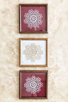 doilies Archives - Quick, Easy, Cheap and Free DIY Crafts Crochet Wall Art, Crochet Home Decor, Vintage Upcycling, Vintage Crafts, Doilies Crafts, Crochet Doilies, Family Crafts, Diy Home Crafts, Framed Doilies