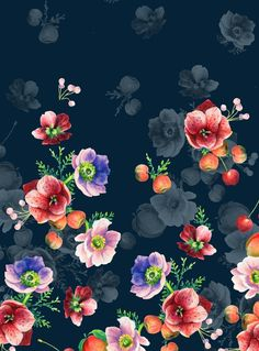 Banquet Florals by Charis Harrison, via Behance