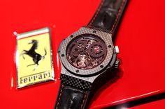 Attila México: Una Alianza legendaria entre Hublot y Ferrari
