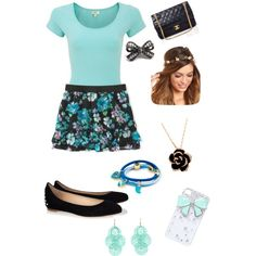 """""""First Date Outfit"""" by kaileebailey on Polyvore"""