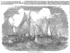 OYSTER-DREDGING IN WHITSTABLE BAY . The Penny Illustrated Paper (London, England), Saturday, August 01, 1863