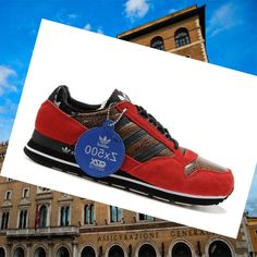 online retailer 2685f 37ce1 Men s sport shoes, Adidas Zx 500 Red Brown HOT SALE! HOT PRICE!