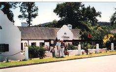 Vivian & Betty at Volkskombuis Restaurant, Stellenbosch, South Africa