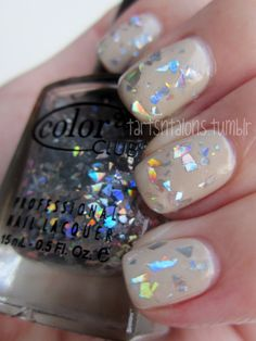 Revlon Bare Bones, Color Club Diamond Drops