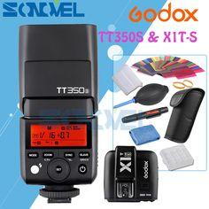 >> Click to Buy << Godox Mini Speedlite TT350S Camera Flash TTL HSS GN36+X1T-S Transmitter for Sony Mirrorless DSLR Camera A7R A7S A99 A6500 A6300 #Affiliate