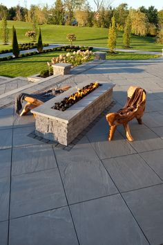 42 fascinating rectangular gas fire pits images garden container rh pinterest com
