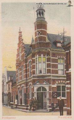 Postkantoor 1928, Vrouwenstraat (Cattenhagestraat), Naarden-Vesting.
