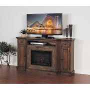 Savannah Media Fireplace - $598 AFW w/stone inserts