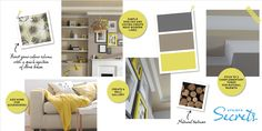Stylist's Secrets | Easifix Coving, Some Fun, Stylists, Gallery Wall, Lounge, Shelves, Living Room, Simple, Modern