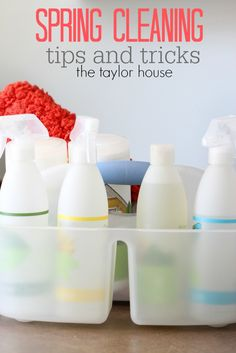 Spring Cleaning Tips and Tricks - The Taylor House