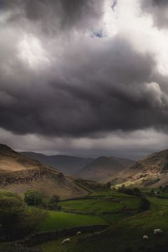 """""""Another secret of the universe: Sometimes pain was like a storm that came out of nowhere. The clearest summer could end in a downpour. Could end in lightning and thunder."""" ~Benjamin Alire Sáenz Summer Storms over the Lake District. Cumbria, UK Freddie Ardley Photography"""