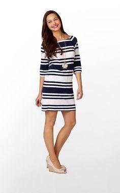 cassie dress-stripes