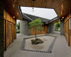 Gallery of Community Pavilion at Jintao Village / Scenic Architecture - 2