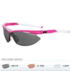 Tifosi Slip Interchangeable Lens Sunglasses - Hot Pink