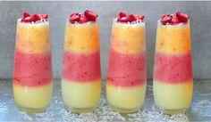 Letní osvěžení: Luxusní trojbarevná Piña Colada z mixéru