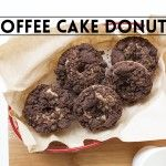 Coffee Cake Donuts   The Sugar Hit. Cinnamon-scented coffee cake donuts topped with cocoa streusel.