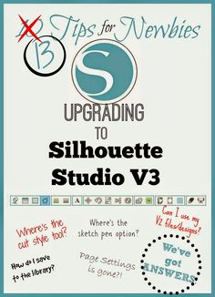 Silhouette School: 10 Tips for Silhouette Studio V3 Newbies