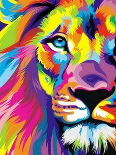 Lisa Frank Lion