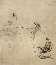 Pablo Picasso - Salomé. 1905