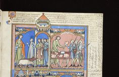 Picture Bible, MS M.638 fol. 23r - Images from Medieval and Renaissance Manuscripts - The Morgan Library & Museum