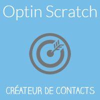 OptinScratch c'est une formule simple et économique : 1 Carte à Gratter Digitale « Responsive » 100% Gagnante avec 1 formulaire Opt-in pour un Tarif Unique !