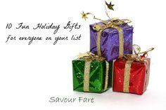 Savour Fare Gift Guide by Savour Fare, via Flickr