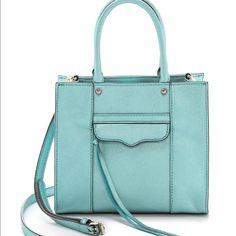 Rebecca Minkoff cross body Mint condition Rebecca Minkoff bag, it's a Tiffany Blue Color! Used under 5 times. Rebecca Minkoff Bags Crossbody Bags
