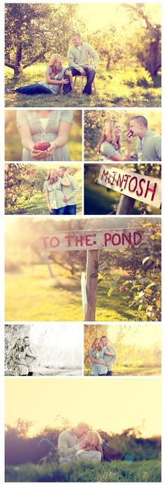 so cute! pretty much our first date was apple picking so this would be fitting! :)