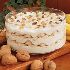 Layered Banana Pudding