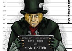 Mad Hatter - Arkham Inmates collection #batman #villain #dccomics | ArtOfZan