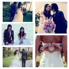 Kellin and katelynn quinns wedding is like my dream wedding! I Love Sleeping with Sirens :]