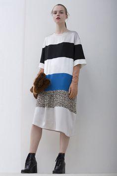 Robe de Christian Wijnants, créateur belge collection 2017