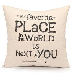 Romantic-Retro-Words-Quotes-Throw-Cushion-Cover-Pillow-Case-Home-Sofa-Car-Decor