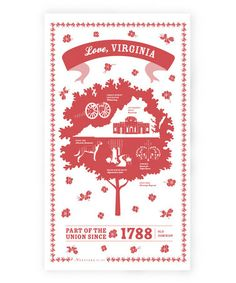 Take a look at this Virginia State Kitchen Towel by Vestiges on #zulily today!