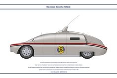 Maximum Security Vehicle by WS-Clave on deviantART Zombie Proof House, Thunderbirds Are Go, 70s Tv Shows, Spaceship Concept, Garage Art, My Childhood Memories, Old Cars, Cool Toys, Favorite Tv Shows