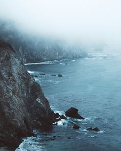 Foggy Coastline☼☽ // pinterest @tiffanymeagle & instagram @tiffany.eagle //☽ ☼