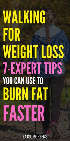 Do you wan to lose weight walking? Use these expert tips to fat burn daily as you exercise . Detox To Lose Weight, Lose Weight Fast Diet, Weight Loss Detox, Losing Weight Tips, Weight Loss Tips, How To Lose Weight Fast, Lose Fat, Weight Loss For Women, Weight Loss Plans