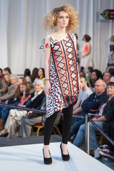 Ashley McKirdy, HND Fashion Textiles. Metamorphosis fashion, textiles and jewellery show, 1 June 2013.