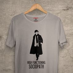 Great to watch Sherlock's season 4! #zizimut #funnytshirts #tshirts #hoodies #sweatshirt #giftshops #personalizedgifts #personalizadas #porto🇵🇹 #tshirtshop #sherlockholmes #sherlock #bbc #tv #tvseries #seriestv #highfunctioningsociopath