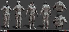 ArtStation - Uncharted 4, Adam Scott