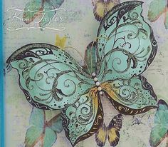 Butterfly crafting