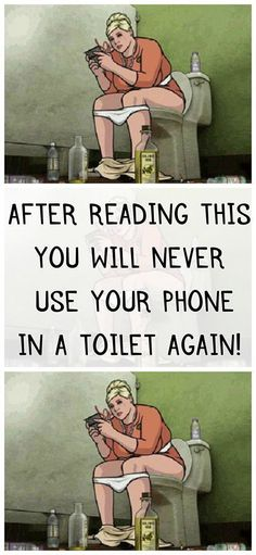 Health: After Reading this you will never use your phone in a toilet again