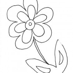 Flowers Free Printable Coloring Pages For Kids