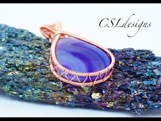 In this tutorial I show you how to wrap a cabochon with wire, using the looping technique. Please feel free to give it a go yourself and I hope you enjoy. Mi...