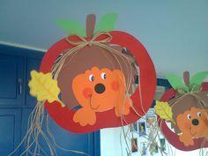 Duendes Mágicos Artes @: Decorações / Mobis de Outono Fall Crafts For Toddlers, Autumn Activities For Kids, Paper Crafts For Kids, Foam Crafts, Art Activities, Diy For Kids, Diy And Crafts, Autumn Crafts, Autumn Art